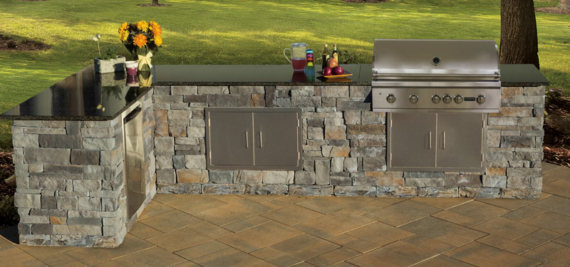 Stone Veneer Kitchen Kit